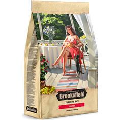 Сухой корм BROOKSFIELD Adult Cat Indoor Low Grain Turkey & Rice низкозерновой с индейкой и рисом для взрослых домашних кошек 7,5кг (5651132)