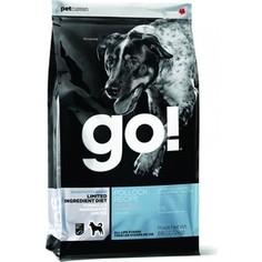 Сухой корм GO! NATURAL Holistic Dog Sensitivity+ Shine Grain+Gluten Free Pollock Recipe беззерновой с треской для щенков и собак 2,72кг (48538)