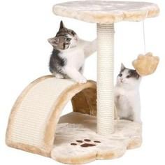 Когтеточка TRIXIE Vitoria столбик с площадкой и дугой для кошек 50см (43751)