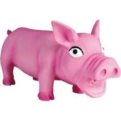 Игрушка TRIXIE Свинка хрюкающая 23см для собак (35491)