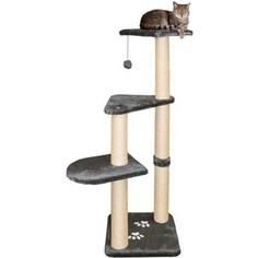 Когтеточка TRIXIE Altea столбики с площадками для кошек 117см (43882)