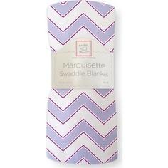Пеленка детская тонкая SwaddleDesigns Маркизет Lavender Chevron (SD-450L)