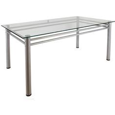 Стол обеденный Мебелик Робер 15 металлик (без рисунка)