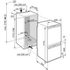 Встраиваемый холодильник Liebherr ICNP 3366-20 001