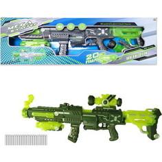 Игрушечное оружие Abtoys Мегабластер, в наборе с 20 мягкими снарядами, на батарейках (PT-00809)
