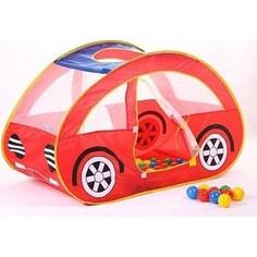Игровой домик Calida Автомобиль 130х55х80 см и 100 шаров LI 653