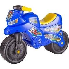 Каталка Альтернатива Мотоцикл синий Alternativa