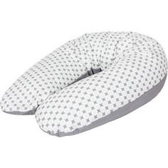 Подушка для кормления Ceba Baby Physio Multi Diamonds & circles трикотаж W-741-700-526