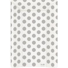 Матрац пеленальный Ceba Baby 70 см с изголовьем на кровать 120*60 см Day & Night Polka Dots W-201-094-523