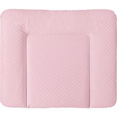 Матрац пеленальный Ceba Baby 70*85 см мягкий на комод CARO pink W-134-079-137