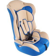 Автокресло BamBola 9-36 кг primo бежево/синий kres2318