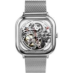 Умные часы Xiaomi Ciga Design Anti-Seismic Machanical Watch Wristwatch silver