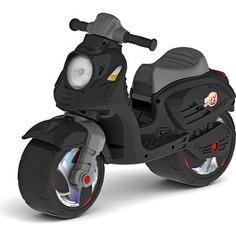 Каталка-мотоцикл RT ОР502 беговел СКУТЕР цвет черный
