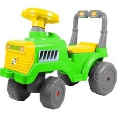 Каталка RT ОР931к Трактор В зелено-желтый