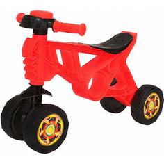 Каталка-беговел RT ОР188 Самоделкин 4 колеса с клаксоном красная