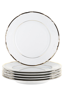 Тарелка мелкая 27 см, 6 шт THUN