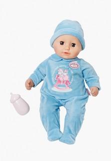 Кукла Zapf my first Baby Annabell мальчик с бутылочкой, 36 см
