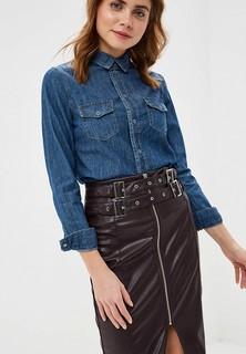 Рубашка джинсовая Lost Ink DENIM CLASSIC FITTED SHIRT