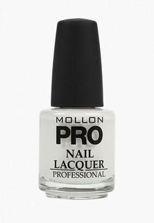 Лак для ногтей Mollon Pro с закрепителем HARDENING NAIL LACQUER №211 15 мл