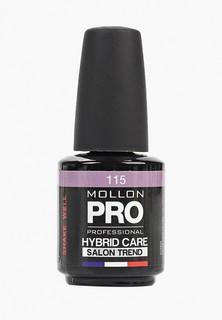 Гель-лак для ногтей Mollon Pro HYBRID CARE SALON TREND UV/LED 12 мл, №115