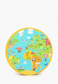 Пазл Scratch Europe PUZZLE WORLD MAP ПАЗЗЛ КАРТА МИРА
