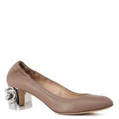 Туфли CASADEI 1F283H050 серо-коричневый