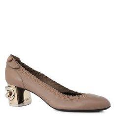 Туфли CASADEI 1H446L050 серо-коричневый