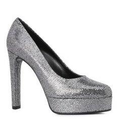 Туфли CASADEI 1F458L120 темно-серый