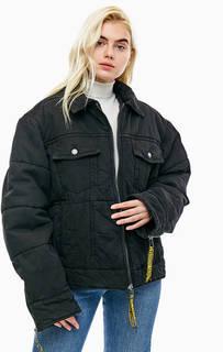 Утепленная короткая куртка из денима Cheap Monday