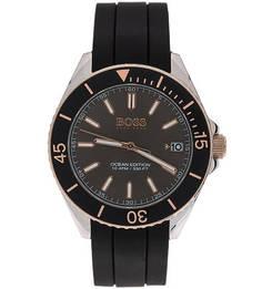 Водонепроницаемые часы с силиконовым ремешком Hugo Boss