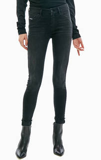 Черные джинсы скинни со стандартной посадкой Slandy Diesel