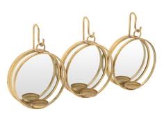 "Зеркало настенное с подсвечниками ""Xavière"" To4rooms"