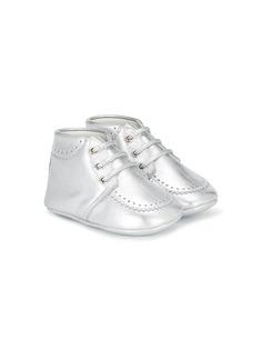 Gucci Kids металлические туфли в стиле брогов