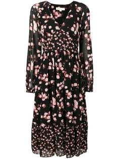 Michael Michael Kors платье с длинными рукавами и цветочным принтом