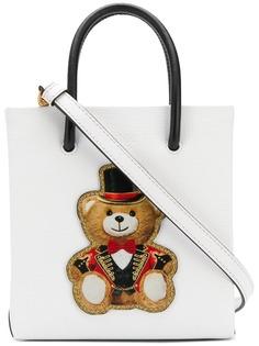 Moschino сумка на плечо с принтом