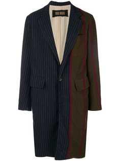 Uma Wang пальто в стилистике пэчворк