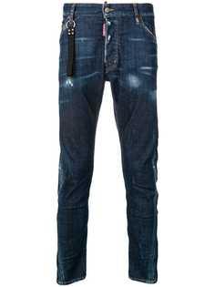 Dsquared2 джинсы с заниженной талией