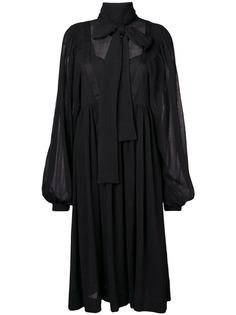 Rochas платье-мини с бантом