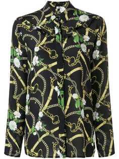 Liu Jo рубашка с принтом цепочек
