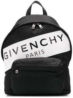 Givenchy рюкзак с полосой с логотипом