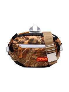 Heron Preston дутая сумка через плечо CTNMB с камуфляжным принтом