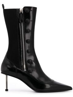 Alexander McQueen ботинки с заостренным носком на шпильке