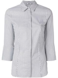 Liu Jo приталенная рубашка в полоску
