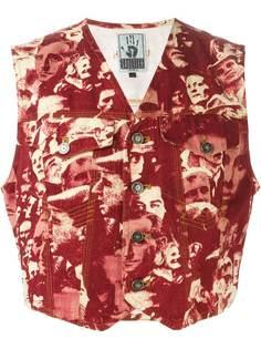 Jean Paul Gaultier Vintage жилетка LEurope de LAvenir