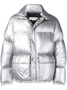 Golden Goose Deluxe Brand куртка-пуховик с эффектом металлик