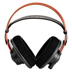 Наушники AKG K712PRO, мониторы, черный/оранжевый, проводные
