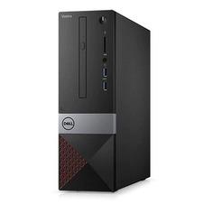 Компьютер DELL Vostro 3470, Intel Core i3 8100, DDR4 4Гб, 1000Гб, Intel UHD Graphics 630, DVD-RW, CR, Linux, черный [3470-3193]