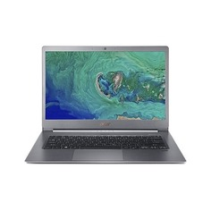 "Ультрабук ACER Swift 5 SF514-53T-784C, 14"", IPS, Intel Core i7 8565U 1.8ГГц, 16Гб, 512Гб SSD, Intel UHD Graphics 620, Windows 10 Home, NX.H7KER.002, серый"