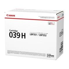 Картридж CANON 039HBK черный [0288c001]