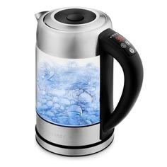 Чайник электрический KITFORT КТ-624, 2200Вт, серебристый